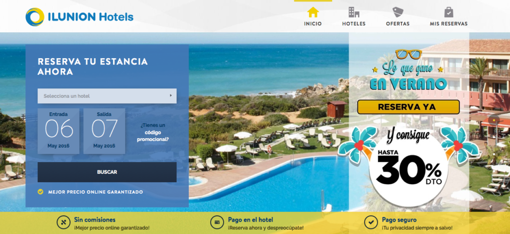 imagen post hoteles accesibles Ilunion Hotels