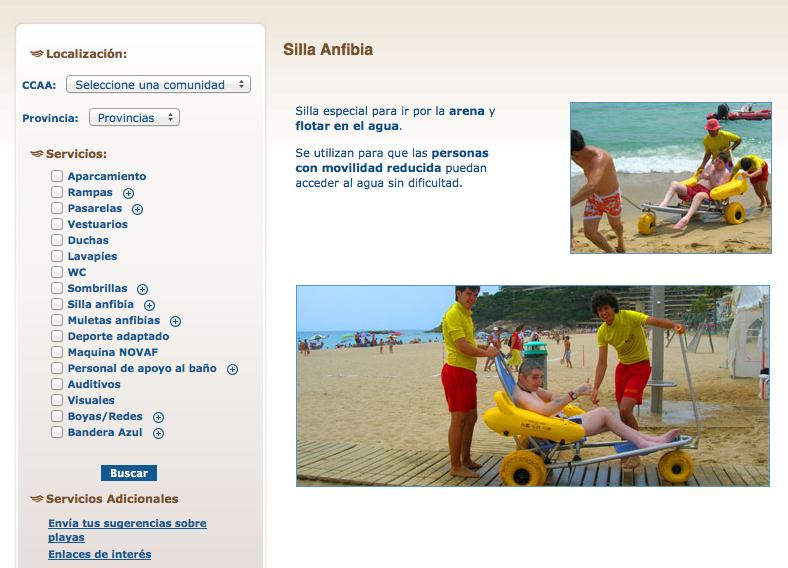 imagen post playas accesibles portal discapnet.es