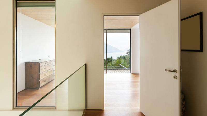entrada casa sostenible