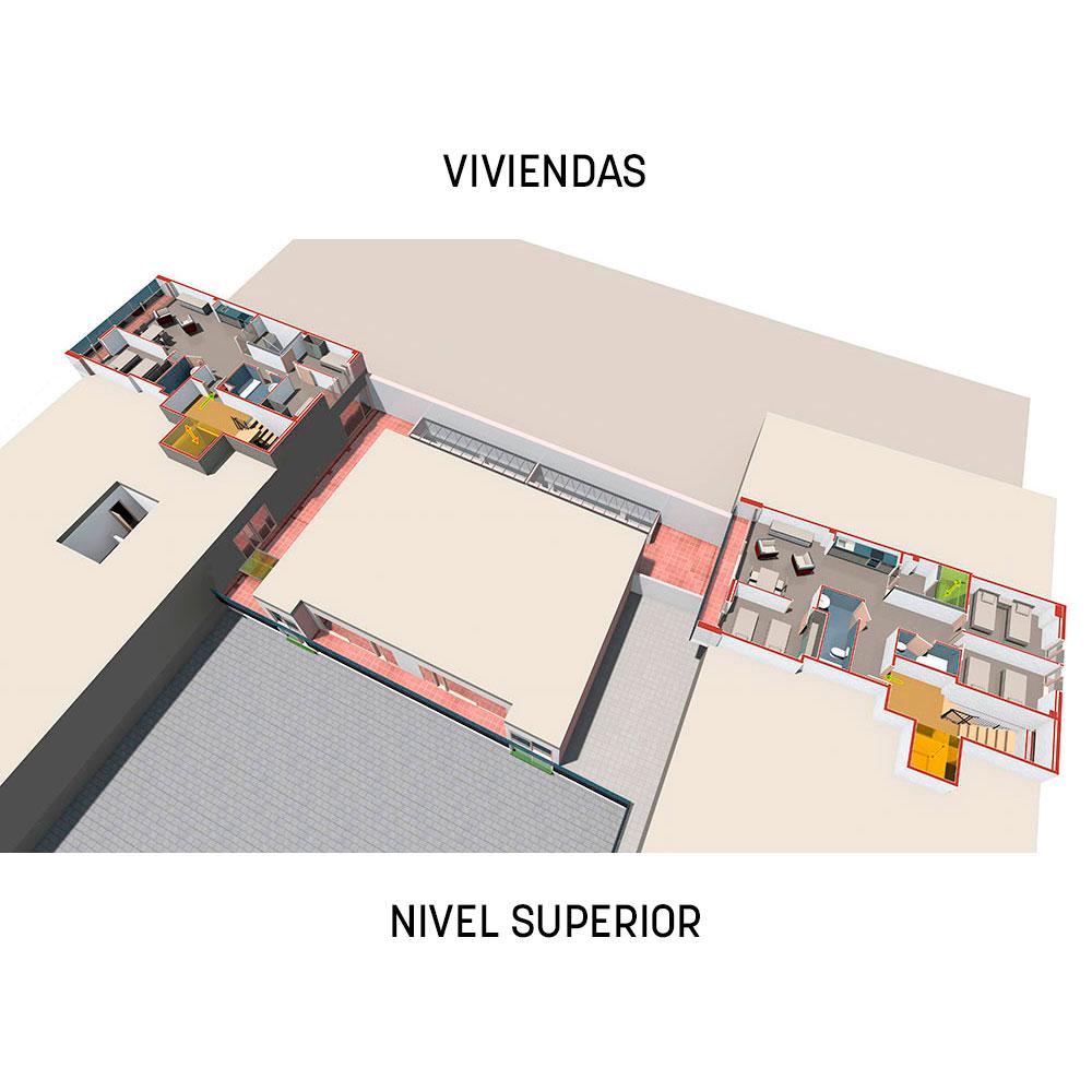 Proyecto Prodis: viviendas - nivel superior